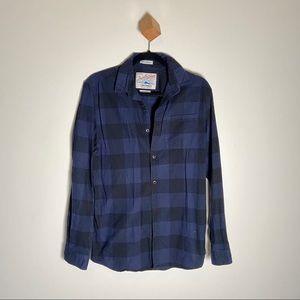 3/$45 Jack & Jones Jor Frisk Shirt Button Up Plaid